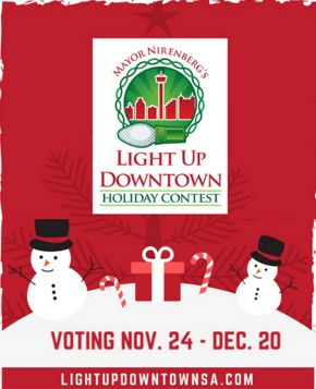 Light Up Downtown San Antonio