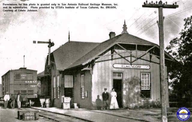 SAAP RR Depot - Elmendorf, Texas