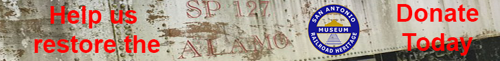 Banner: Help us restore the Alamo - Donate Today #SP127Alamo